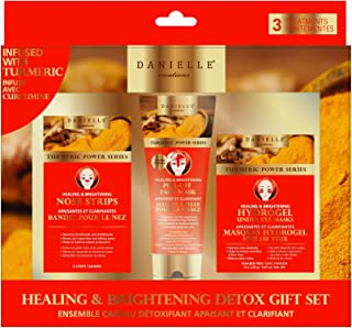 DANIELLE - 3Piece Healing & Brightening Detoxifying Turmeric Mask Kit
