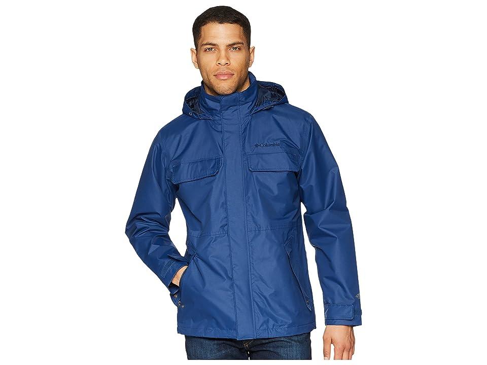 Columbia Dr. DownPour II Jacket (Carbon) Men