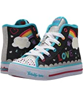 SKECHERS KIDS Twinkle Toes: Shuffles 10874L Lights (Little Kid/Big Kid)