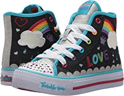 SKECHERS KIDS - Shuffles 10874L Lights (Little Kid/Big Kid)
