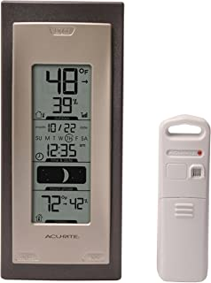 AcuRite 00592A4 Wireless Indoor/Outdoor Thermometer with Humidity Sensor