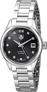 Women's WAR2413.BA0770 Carrera Analog Display Swiss Automatic Silver Watch