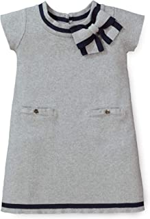 Hope & Henry Girls' Milano Tipped Sweater Dress