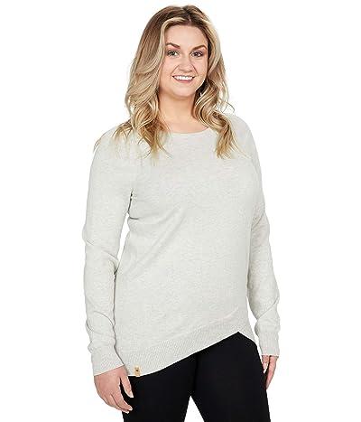 tentree Highline Cotton Acre Sweater (Light Grey Heather) Women