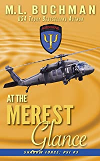 At the Merest Glance: a military paranormal romance (Shadowforce: Psi Book 3)