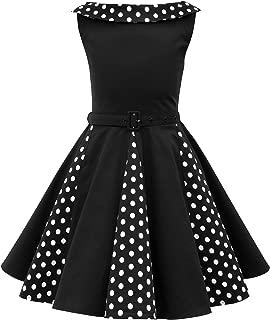 Kids 'Alexia' Vintage Polka Dot 50's Girls Dress