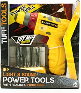 Lanard Tuff Tools Compact Power Drill Toy Tool