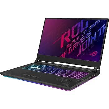 "ASUS ROG Strix G17 (2020) Gaming Laptop, 17.3"" 144Hz FHD IPS Type Display, NVIDIA GeForce RTX 2070, Intel Core i7-10750H, 16GB DDR4, 512GB PCIe NVMe SSD, RGB Keyboard, Windows 10, Black, G712LW-ES74"