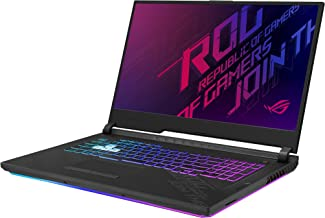 "ASUS ROG Strix G17 (2020) Gaming Laptop, 17.3"" 144Hz IPS Type FHD, NVIDIA GeForce RTX 2070, Intel Core i7-10750H, 16GB DDR4, 512GB PCIe NVMe SSD, RGB KB, Windows 10, G712LW-ES74"