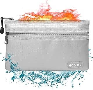 Hodufy Fireproof Money Bag, 10.6