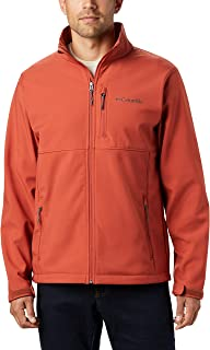 Columbia Men's Ascender Softshell Water and Wind Resistant Jacket DD
