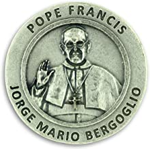 Lot of 3! Pope Francis Pray for Us Pocket Token Coin Charm 1.2