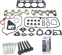 Head Gasket Set Bolt Kit Fits: 98-03 GMC Chevrolet Pontiac Isuzu 2.2L OHV 8v VORTEC