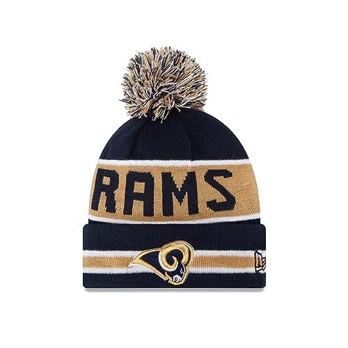 3a750b55fe6 Rams Winter Hat  Amazon.com