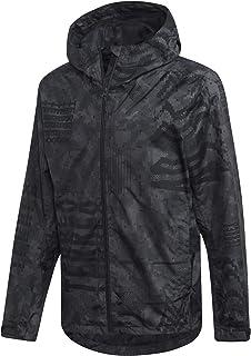 adidas Men's Camo Rain Jacket