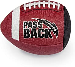 Passback Junior Rubber Football, Ages 9-13, Youth Training Football