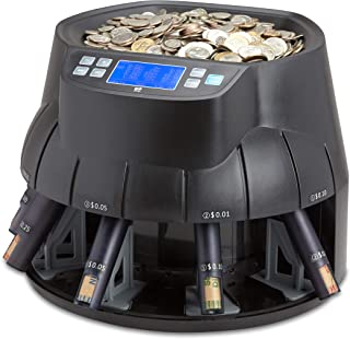 ZZap CS40 Coin Counter & Sorter for USD - Money Cash Currency Machine