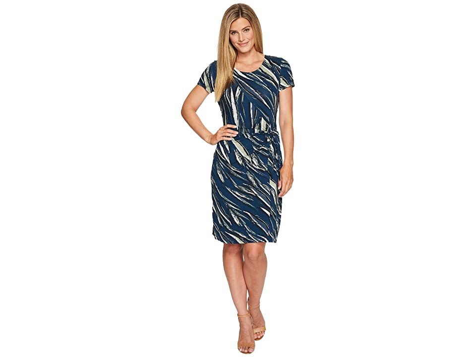 NIC+ZOE Tiger Lily Dress (Multi) Women