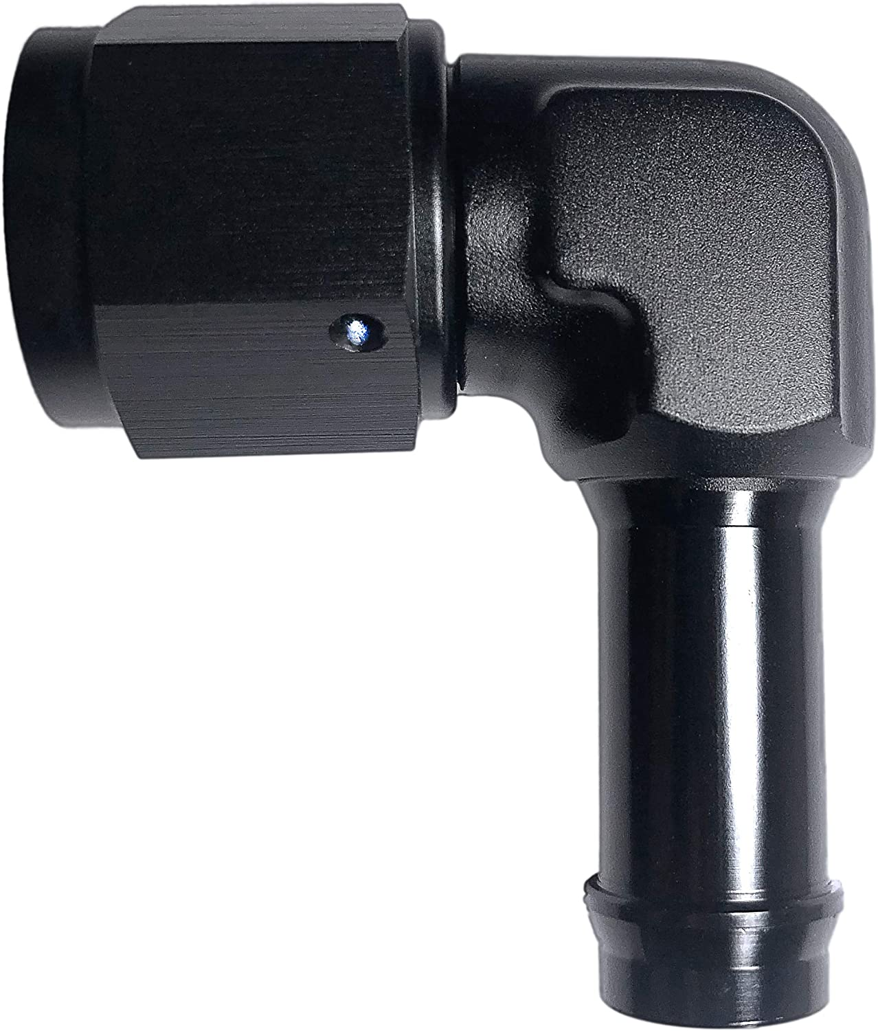 autoBbox 6AN Female to 3 8 Hose Degree Barb online shop Fittings 90 Fuel Max 60% OFF Alu