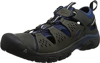 KEEN Australia Men's Arroyo III Trekking Sandal, Empire/Blue Opal