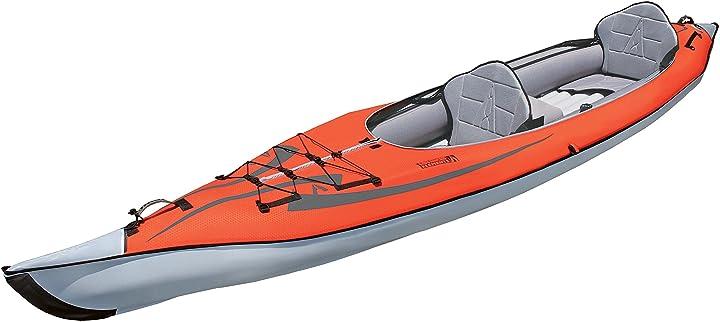 Kayak gonfiabile -  advanced elements ae1007-r advancedframe, rosso (rot)