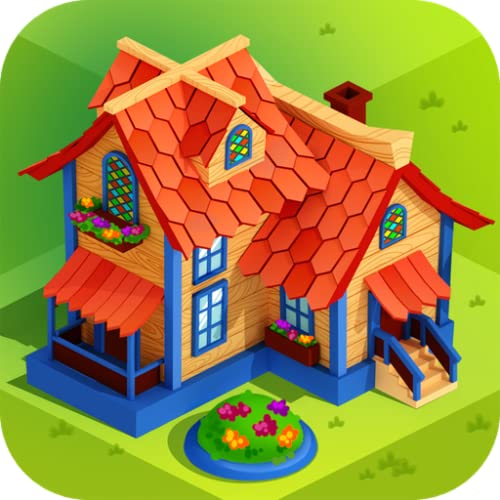 Match-n-Build - City Building Simulator: spiele Bau Simulator, wo Bauarbeiter auf Baustellen mit Baumaschinen Haus einrichten, Dorf oder Stadt bauen, Strassen verschönen, verwende richtige Strategie