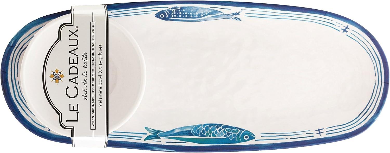 Le Cadeaux Santorini Popular shop is the lowest price challenge Melamine Purchase Tray and Set Serving Bowl