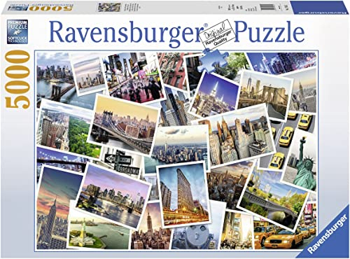 Ravensburger 17433 Puzzle nouveau York The City Never Sleeps