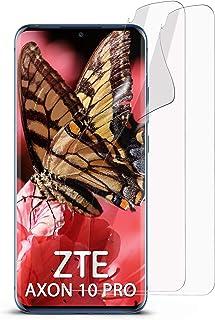 MoEx klar skyddsfolie för ZTE Axon 10 Pro, 2 x Stück, transparent