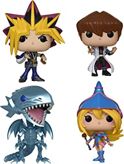 Funko 262 Animation: Yu-Gi-Oh! Series 1 Collectors Yami Yugi, o Kaiba, Blue Eyes White Drago, Dark Magician Girl, Set