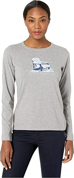 Wonderful Adirondack Crusher Long Sleeve T-Shirt