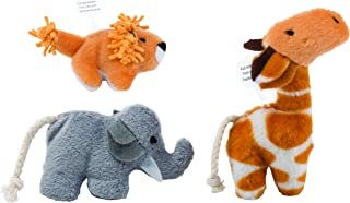 Pet Zone Safari Friends Cat Toys (3 Pack)