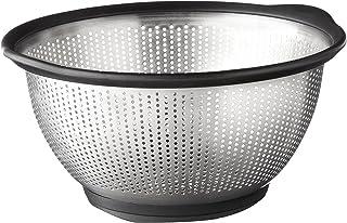KitchenAid Escorredor de aço inoxidável Gourmet, 5 L, preto