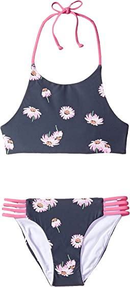 O'Neill Kids - Daisy Chain Revo High Neck Top Set (Big Kids)