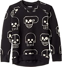 Skull Robot Sweatshirt (Little Kids/Big Kids)