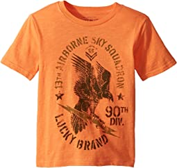 Lucky Brand Kids - Eagle Bolt Short Sleeve Tee (Big Kids)