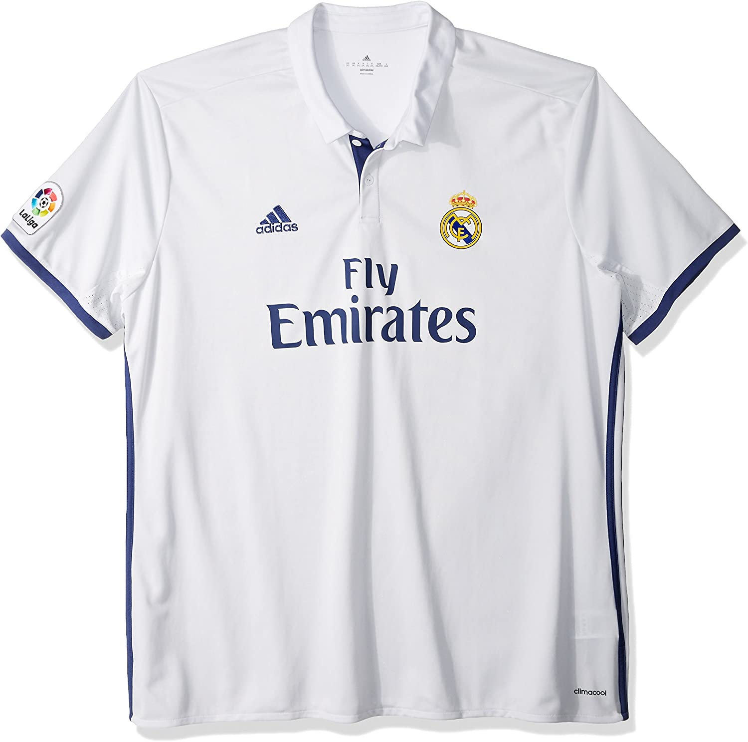 Adidas Men's Real Madrid Home Replica Player Jersey