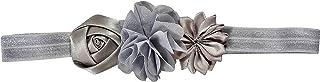 ES Kids Flower Headband - Silver, Silver