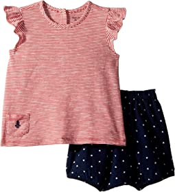 Striped Top & Bloomer Set (Infant)
