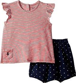 Striped Top & Bloomer Set (Infant)