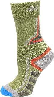 Columbia Omni Heat Space Dye Hiking Crew Socks 1 Pair, Nori, Small