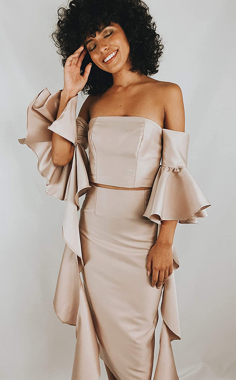 Price reduction Women's designer pink Minneapolis Mall skirt pencil