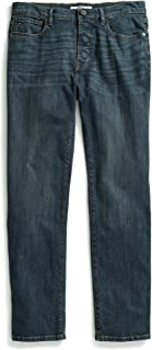 Men's Adaptive Jeans Relaxed Fit Adjustable Waist Magnet Buttons