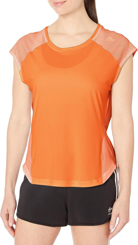 adidas Women's Running Tokyo Tee Max Reservation 61% OFF Short Sleeve
