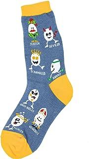 Foot Traffic, Women's Food-Themed Socks, Fits Women's Shoe Sizes 4-10