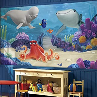 RoomMates Finding Dory  Removable Wall Mural - 10.5 feet X 6 feet