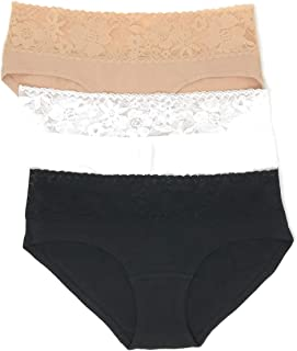 Victoria's Secret Lace Waist Hiphugger Panty Set of 3