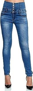 Elara Jeans Femmes Stretch Taille Haute Skinny Chunkyrayan