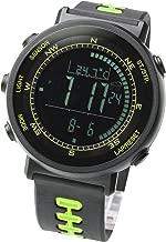 LAD WEATHER Swiss Sensor Watch - Digital Compass, Altimeter, Weather Monitors, Barometer, and Stopwatch