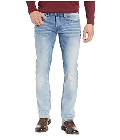 Buffalo David Bitton Ash X Slim Fit Jeans in Crinkled Bleached (Crinkled & Bleached) Men